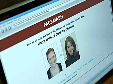 "October 28 2003 - Mark Zuckerberg, a Harvard psychology sophomore, writes ""Facemash,"" a website that asked users to judge students' attractiveness based on their dorm-directory photos"