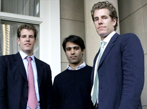February 10 2004 - Harvard students Cameron Winklevoss, Tyler Winklevoss and Divya Narenya send Zuckerberg a cease-and-desist letter, accusing Zuckerberg of independently developing thefacebook.com while he was hired to work on their social networking project, HarvardConnection.