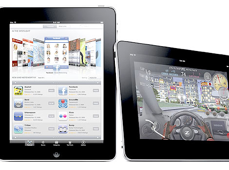 In this product image released by Apple Inc. is the most awaited Apple iPad that was launched in California.