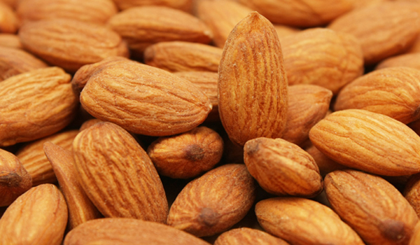 Almonds contain protein, fibre, vitamin E and magnesium - essential to produce energy, build and maintain muscle.