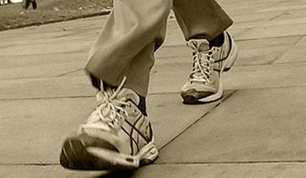 Regular walking can reduce high blood pressure - hypertension - by making the heart work more efficiently and by improving the circulation.
