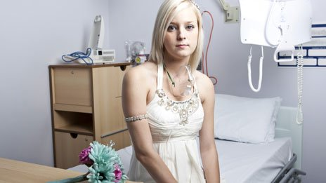 Kirstie Mills was 21 when a lung transplant became her only hope of survival.
