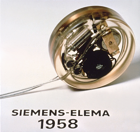 The first implantable pacemaker