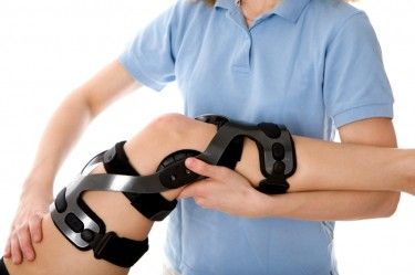 Talk to a physician to determine whether you need a knee brace.