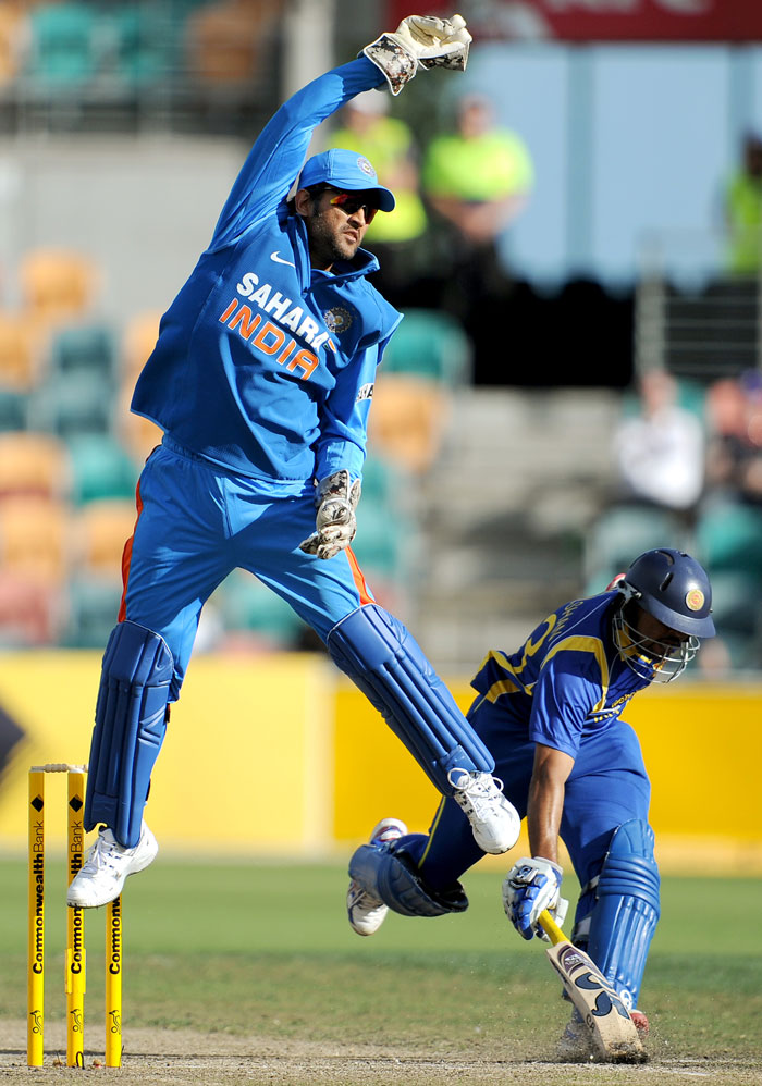 India were desperate in the field with Sri Lanka scoring at ease. The thought of a bonus point evaded the imagination as the innings progressed.
