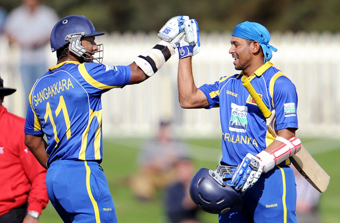 Twin tons have been ominous and although Kumar Sangakkara and Tillakaratne Dilshan took Sri Lanka to a total they enjoyed to be at, it wasn't enough to get them past the finish line.