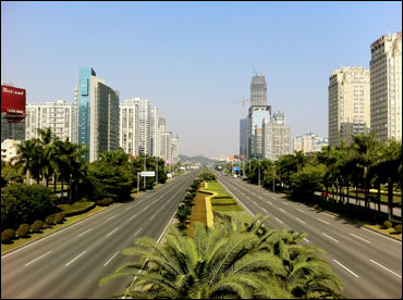 Dongguan Avenue Central Business District.