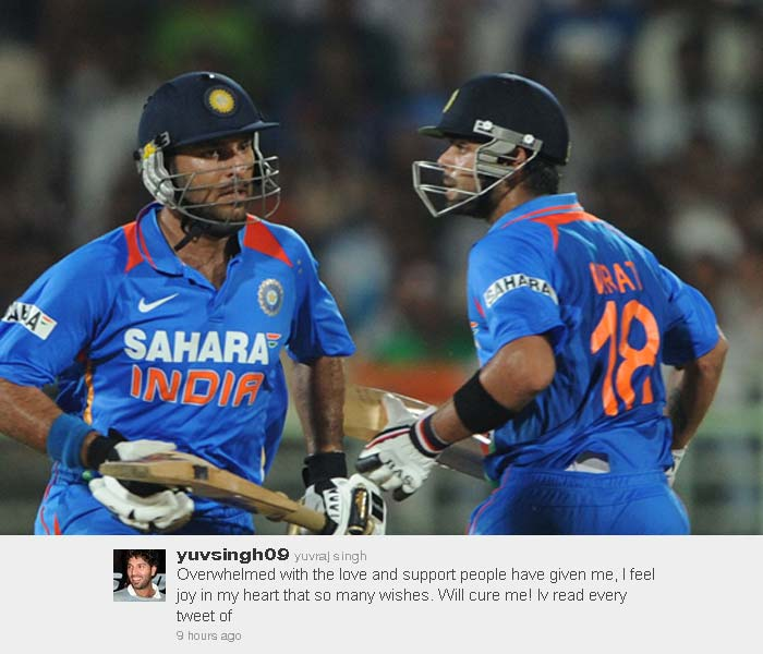 Yuvraj is undergoing treatment in the US for his ailment.
