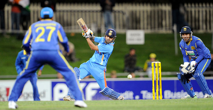The foundation of the win was laid by the partnership between Gambhir and Kohli. The two put up 115 runs at a brisk pace.