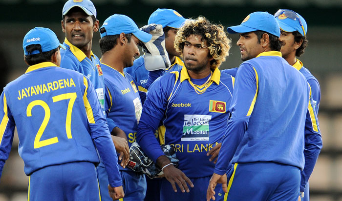 Sachin Tendulkar and Virender Sehwag had provided India with a decent start but the former was dismissed by Lasith Malinga's deceptive low full toss.