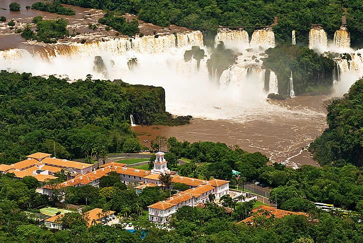 The Hotel das Cataratas, Iguaçú Falls, Brazil