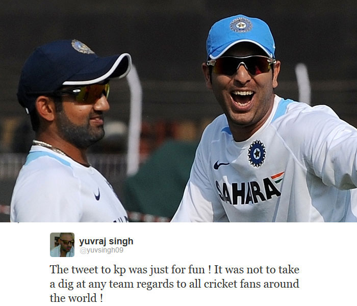 In the era of controversies, Yuvraj was quick to realise that his comment could eventually be taken as offence and made up for the same.