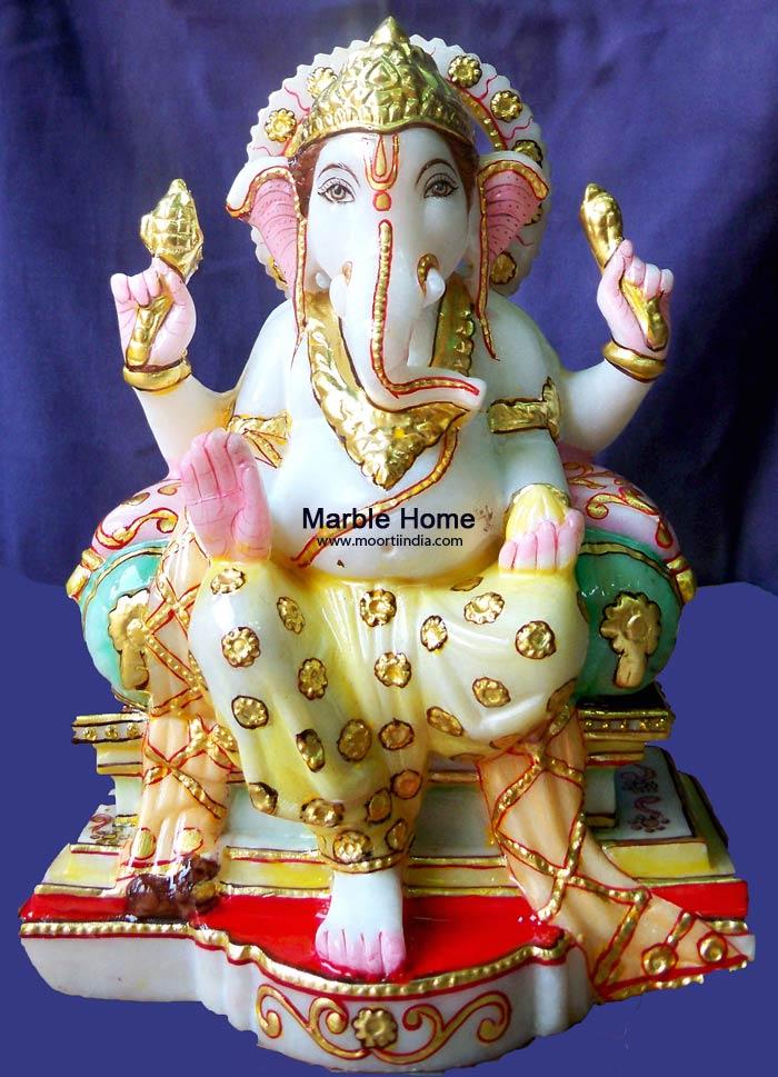 Marble God Statue - Ganesh